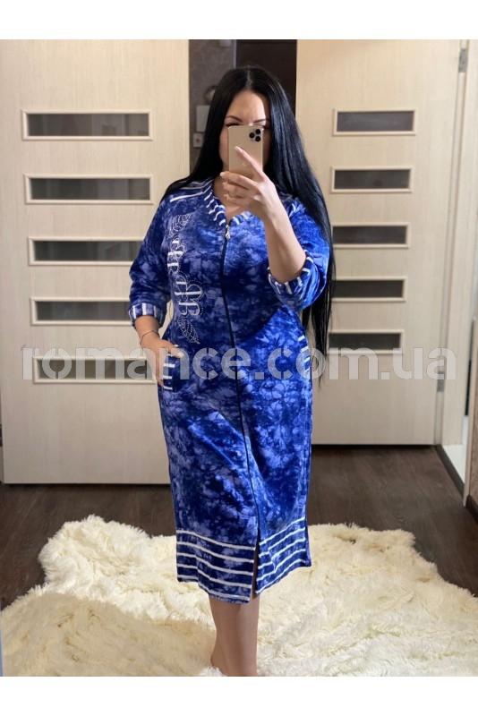 Халат женский велюровый Fashion Romance 2020