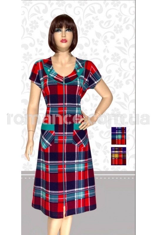 Халат Трикотажный женский Fashion Romance 5120