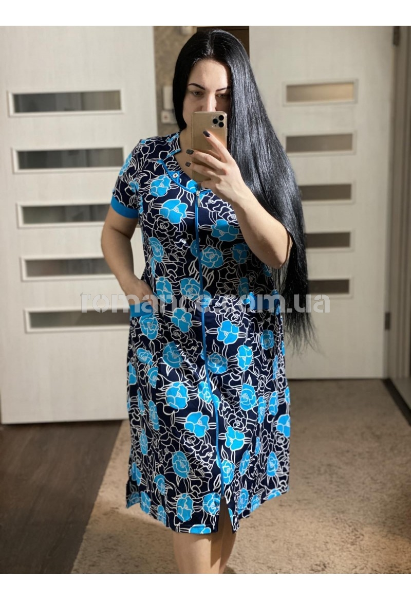 Халат Трикотажный женский Fashion Romance 12