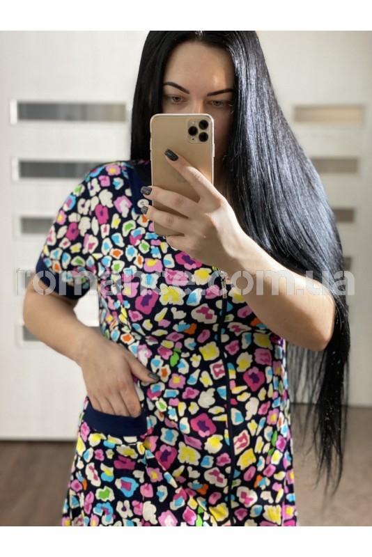 Халат Трикотажный женский Fashion Romance 17