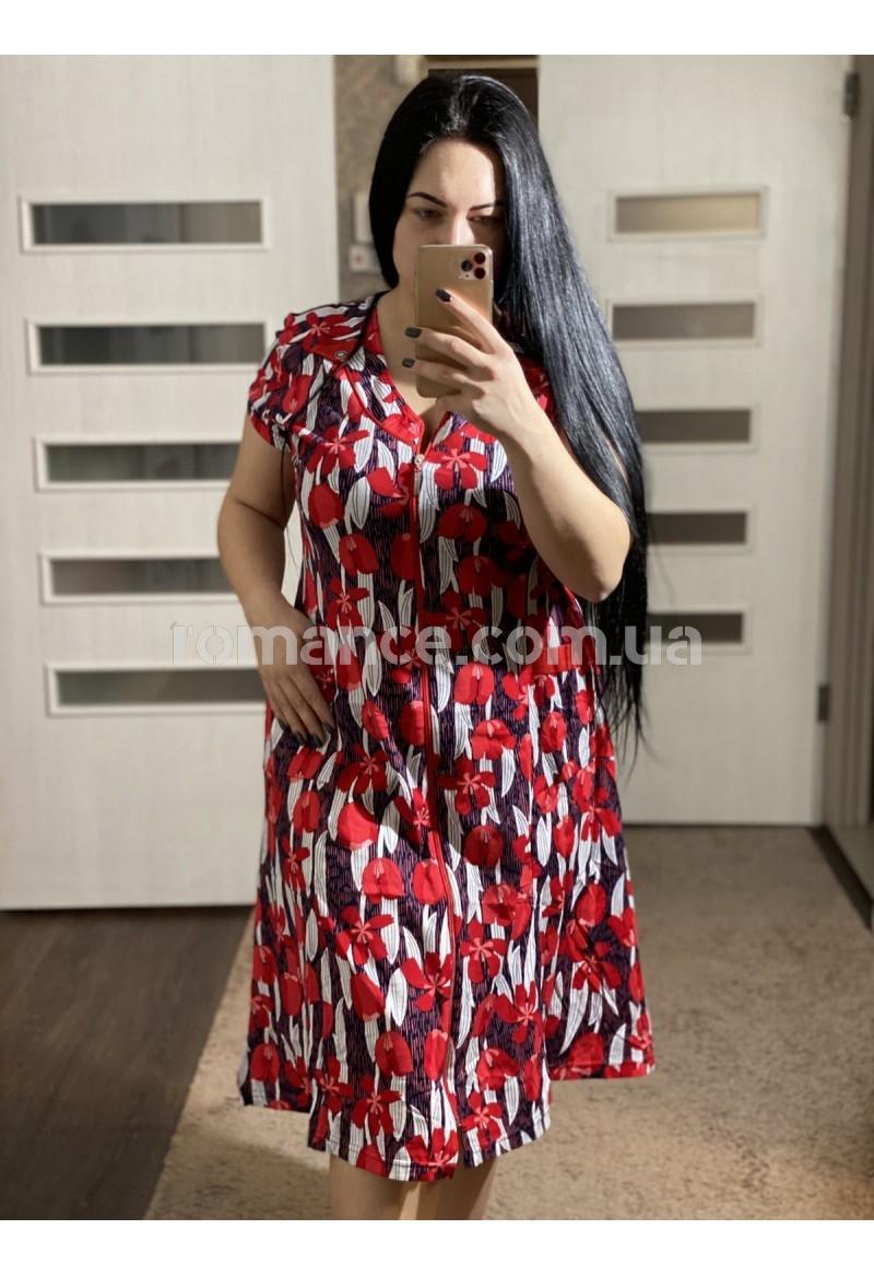 Халат Трикотажный женский Fashion Romance 19
