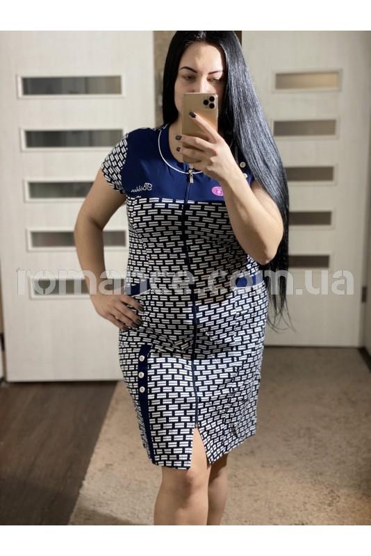 Халат Трикотажный женский Fashion Romance 21