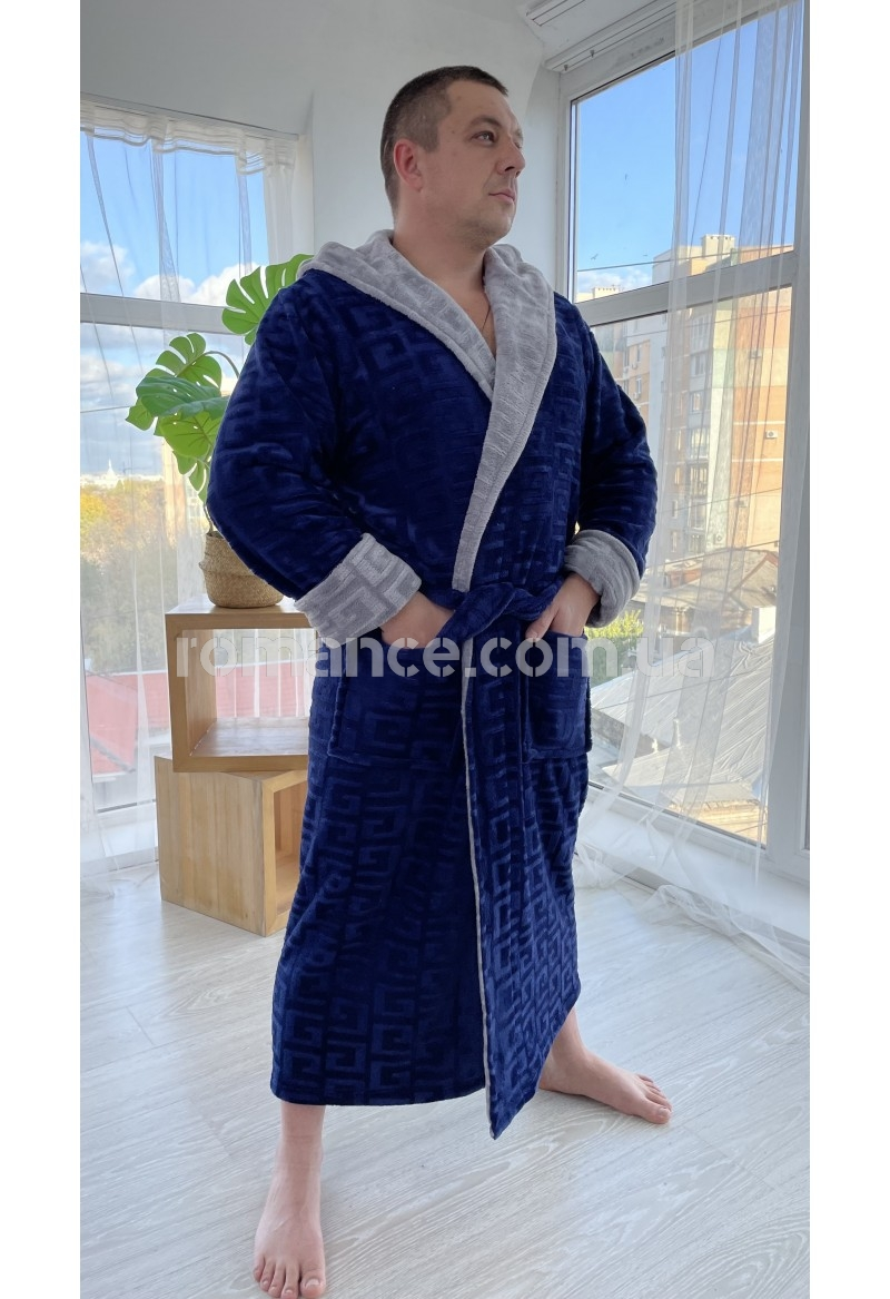 Махровый мужской халат Man Romance  26811