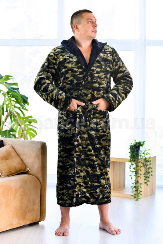 Мужской махровый халат Man Romance Style 2371