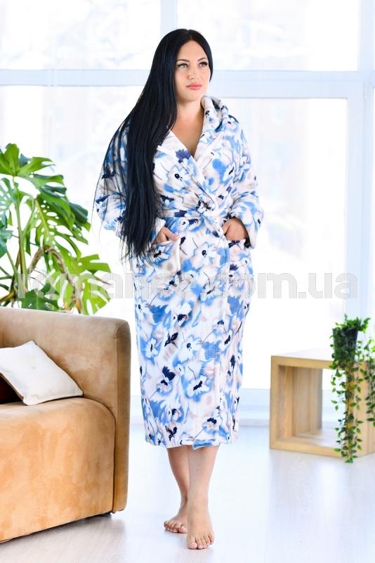 Женский махровый халат Woman Romance Style 2111