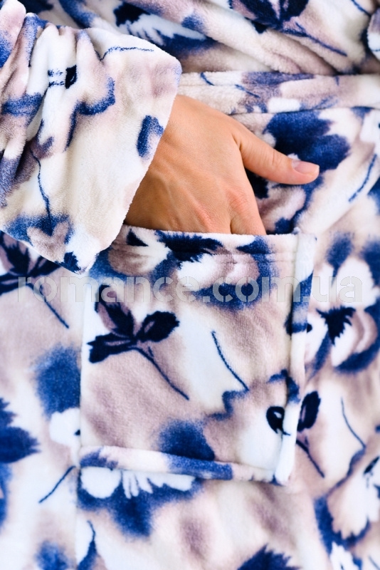 Женский махровый халат Woman Romance Style 2112