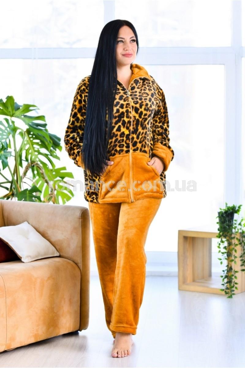 Женский махровый домашний костюм Woman Romance Style 2200