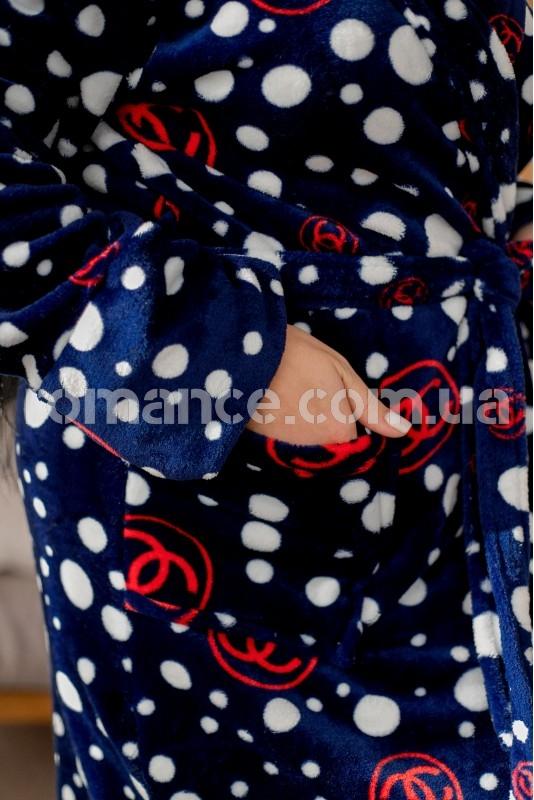 Женский махровый халат Woman Romance Style 2235