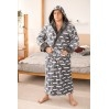 Махровый мужской халат Man Romance Style 23812