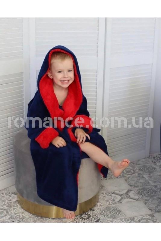 Махровый подростковый халат Kids Romans 902