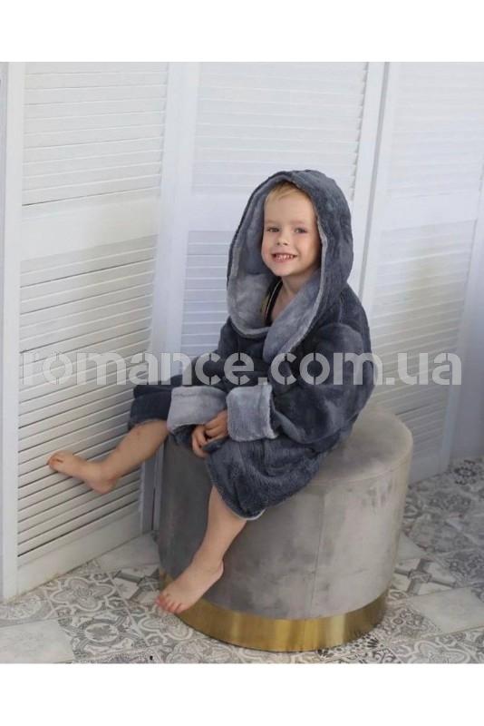 Подростковый махровый халат Kids Romans 904