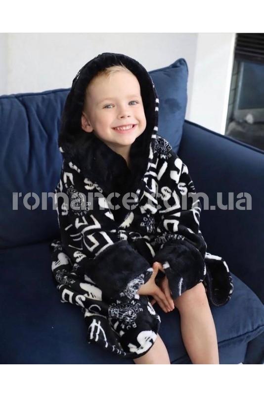 Подростковый махровый халат Kids Romans 905