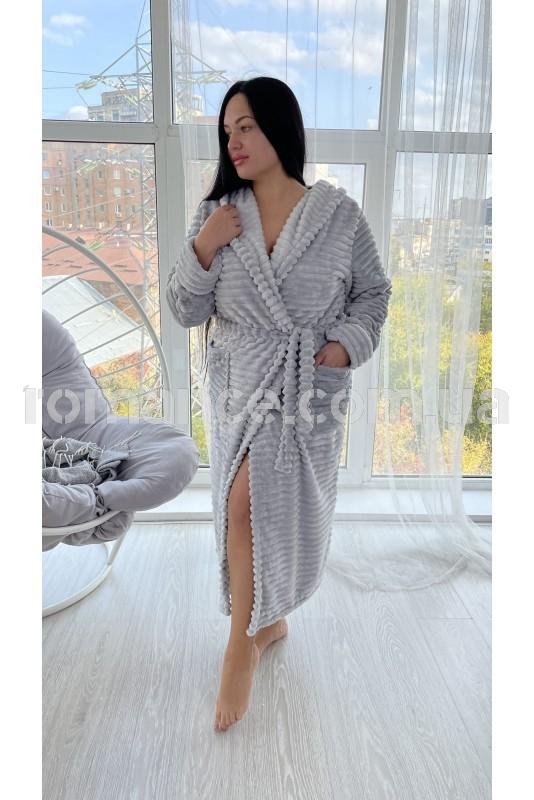 Женский махровый халат Woman Romance Style 2899
